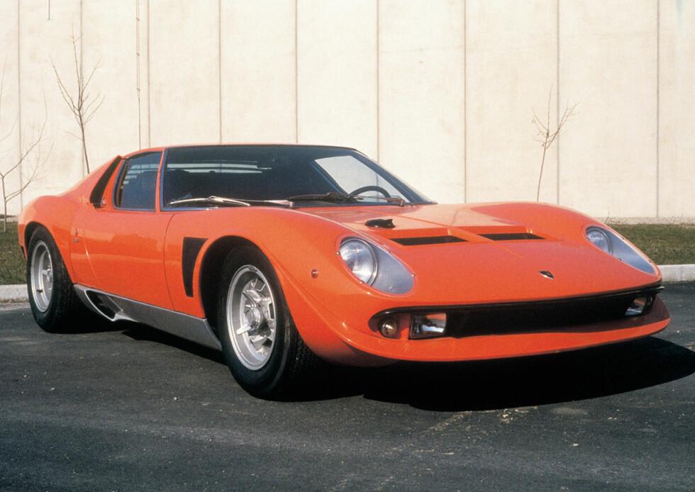 Lamborghini Miura Jota (1972)