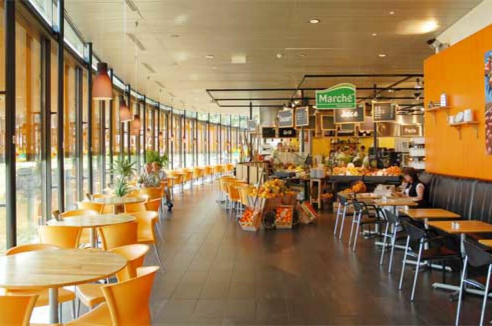 VINNER: Marché Storebaug ved Rygge er for andre gang høyest på listen. Foto: Marché