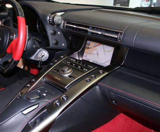 Ergonomi à la Lexus Foto: Knut Moberg