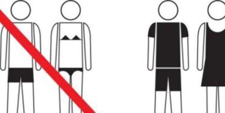 Barcelona ber turistene kle på seg