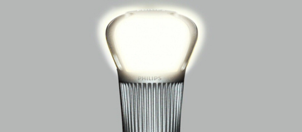 Den bruker kun 20 prosent av energien til en ordniær lyspære, og varer opptil 25 ganger lenger.  Foto: Produsenten