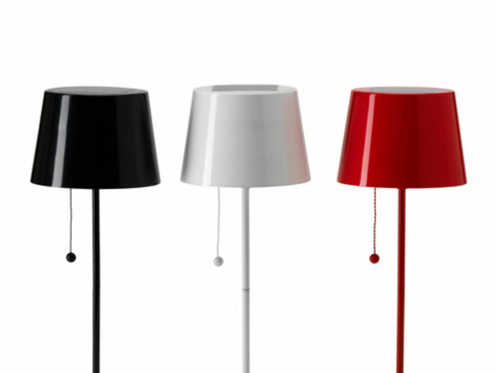 Bordlampe fra Ikea - 249 kroner per stykk