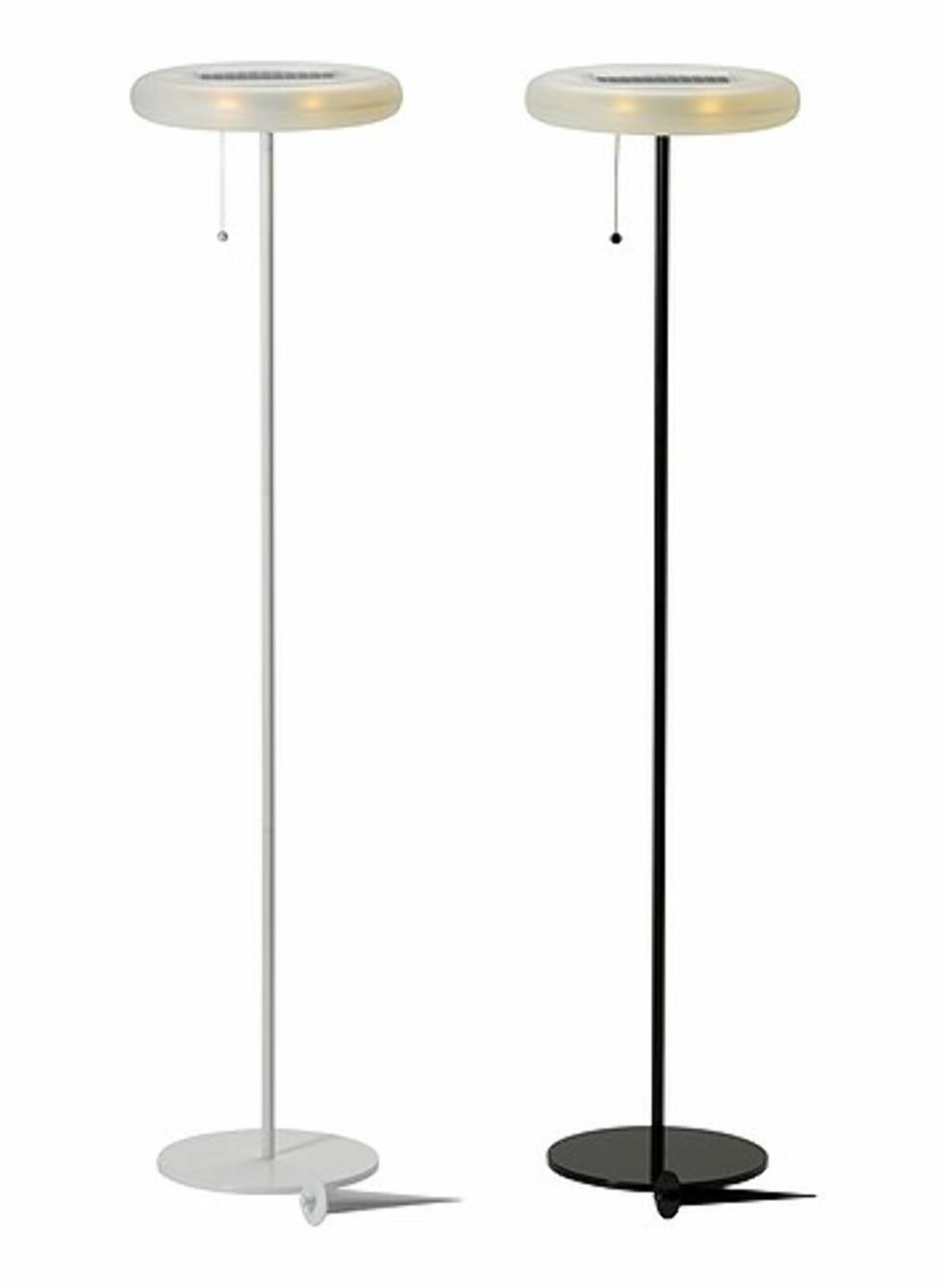 Stålampe fra Ikea - 269 kroner per stykk