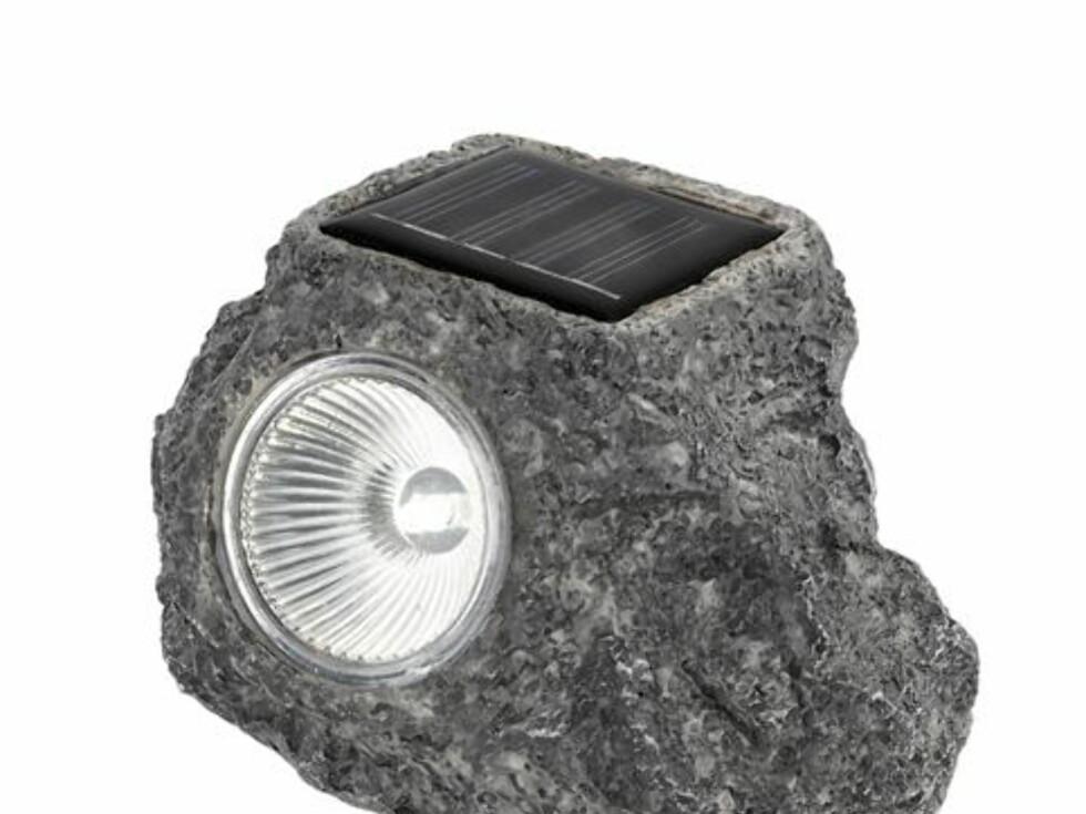 Hagespotlight fra Clas Ohlson - 139 kroner for 2 stykk