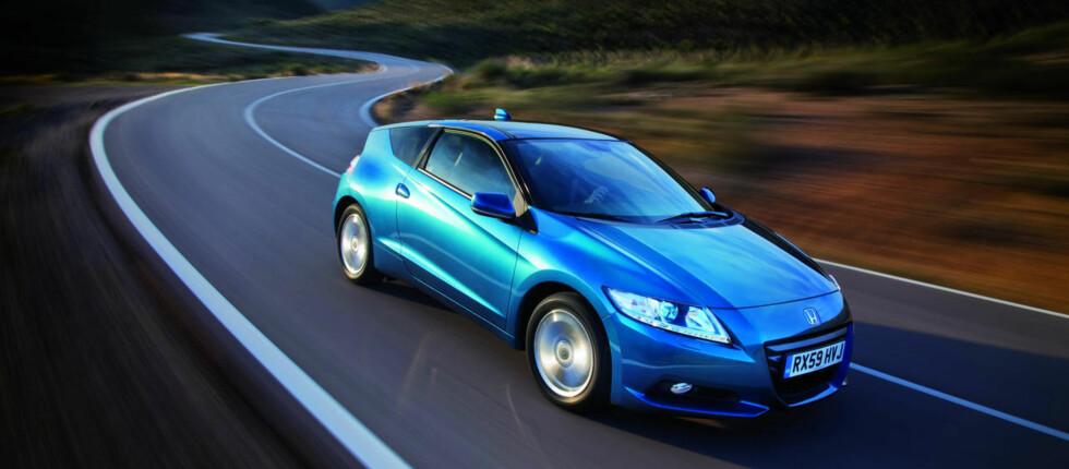 Honda CR-Z blir vesentlig sportsligere enn storebror Insight  Foto: Honda