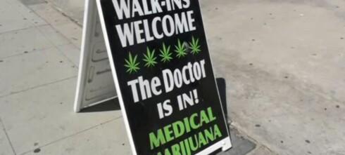 I solskinnsstaten der hasj er medisin