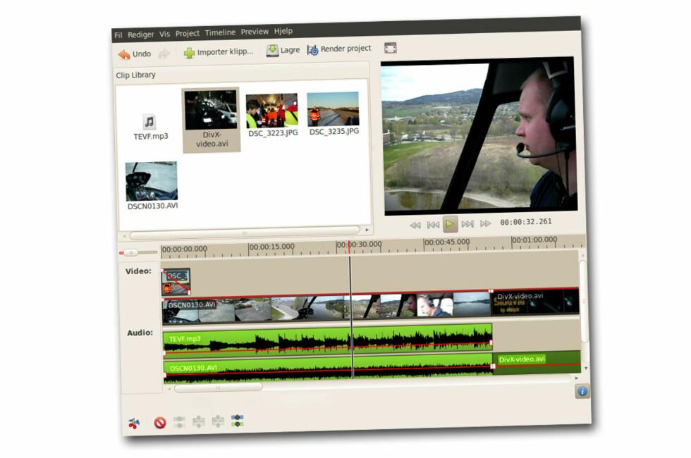 Videoredigering i ny Ubuntu