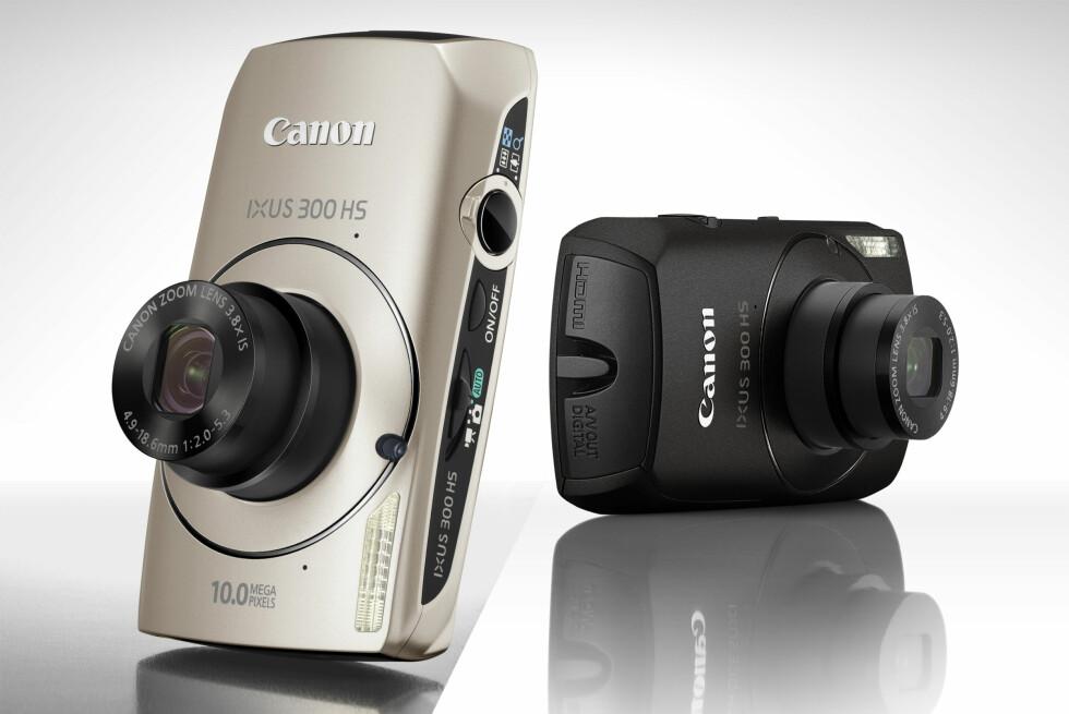 Ny IXUS-serie fra Canon