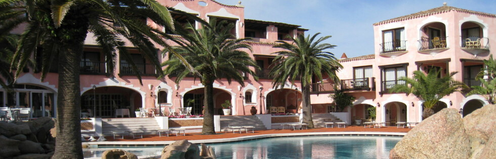 Hotel La Palme ligger ved Costa Smeralda på Sardinia. Foto: Stine Okkelmo