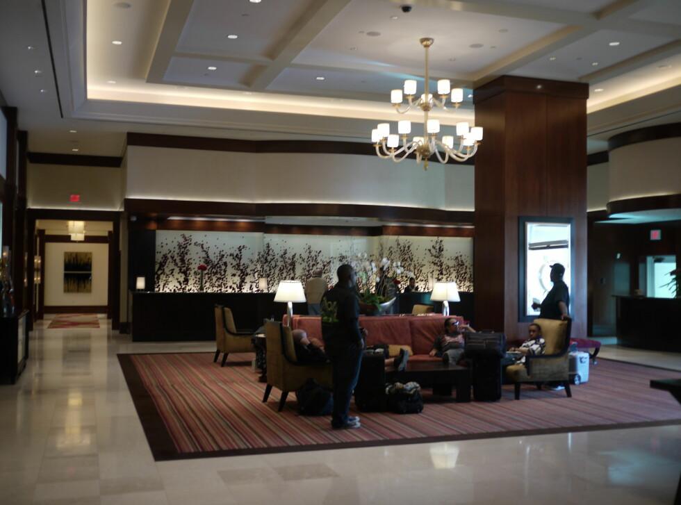 Lobbyen på The Signature at MGM Grand. Foto: Pål Joakim Olsen