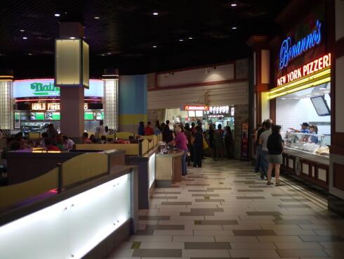 Food court på MGM Grand der de har noe for en hver smak. Foto: Pål Joakim Olsen
