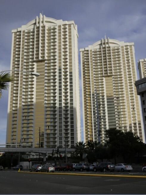 Slik ser hotellet ut fra gateplan. Foto: Pål Joakim Olsen