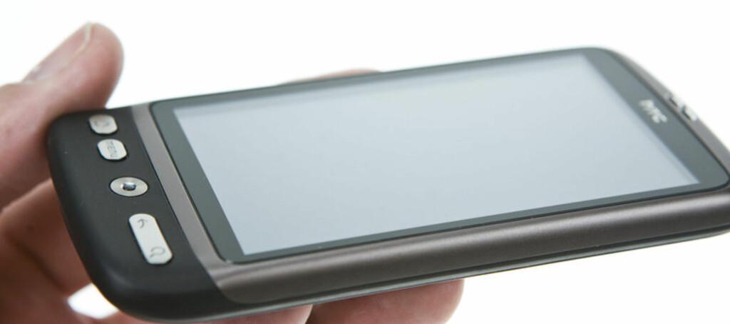 HTC Desire er den beste telefonen på markedet pr i dag. Foto: Per Ervland