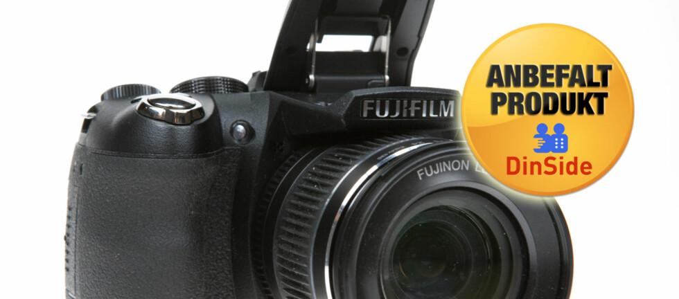 Har du kjøpt Fujifilm HS10 får du nå tilbud om å oppgradere det gratis. Foto: Per Ervland