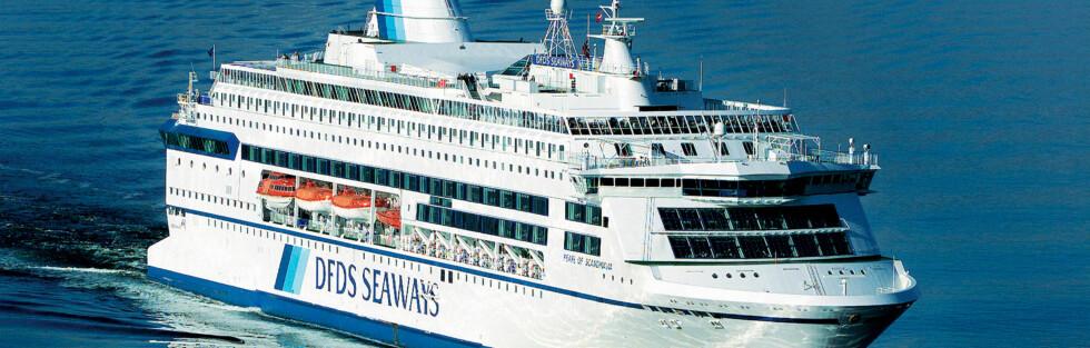 KUNDESERVICE: DFDS Seaways er årets kundeservicebedrift, ifølge Kundeserviceprisen 2010. Foto: DFDS