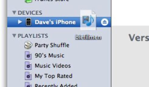 Gjør videoen klar for iPhone - kjapt