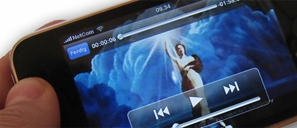 Dette er en enkel og effektiv måte å konvertere videofiler til et format som kan spilles av på iPhone. Foto: Bjørn Eirik Loftås