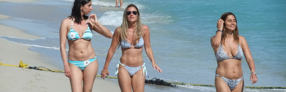 Flere nordmenn reiser for eksempel på ferie til Miami. Der er det dyrt å plukke opp mobilen. Foto: Ole Thomas Halvorsen