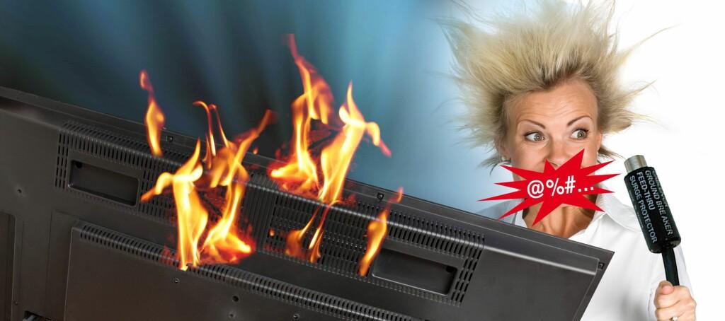 I henhold til Post- og teletilsynet risikerer du både støt og i verste fall brann hvis du ikke bruker galvanisk skille. Men er DU i risikogruppen? Foto: Per Ervland