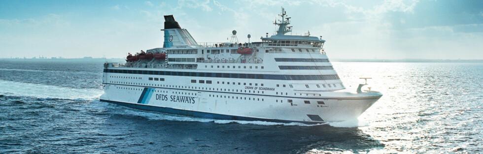 DANSKEBÅTEN: Juli er høysesong hos alle fergeselskapene. Foto: DFDS Seaways