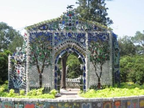 Minnie Evans flaske-kapell Foto: Airlie gardens