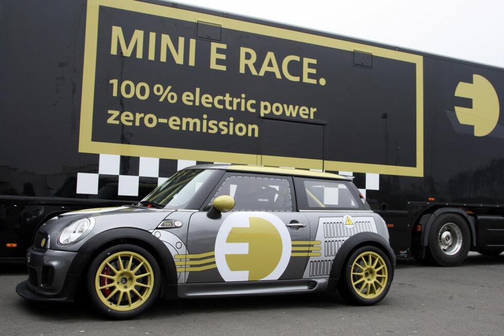 MINI E Race. 100% electric power, zero-emission. (04/2010) Foto: an.niedermeyer