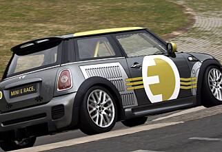 Elbil rask på Nürburgring