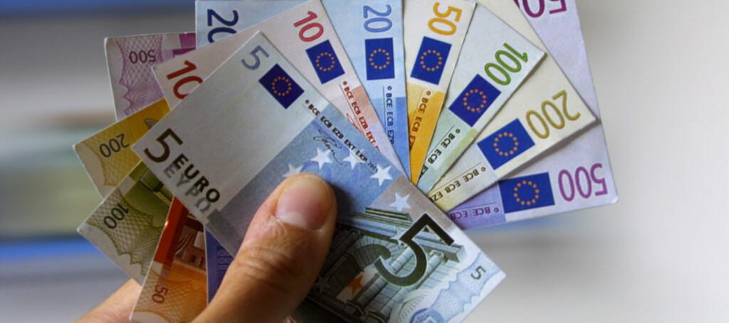 <B>BILLIG:</B> Nå er euroen billigere enn gjennomsnittet de siste årene. Foto: colourbox.com