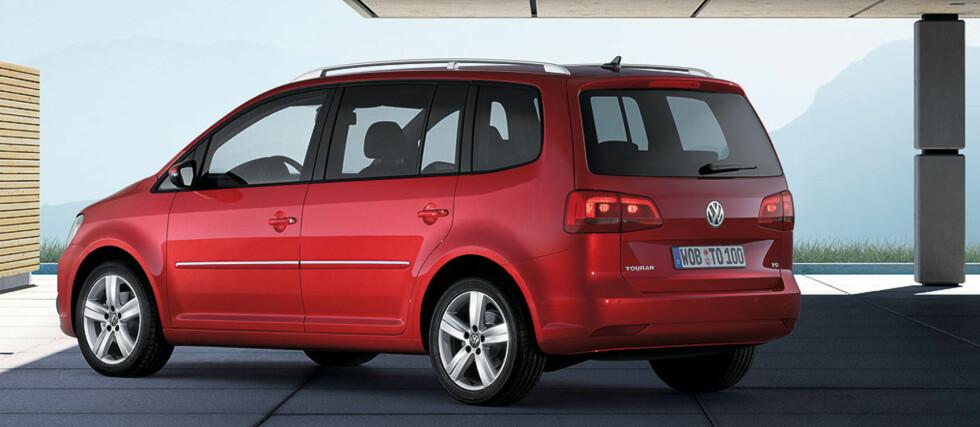 Fornyet VW Touran