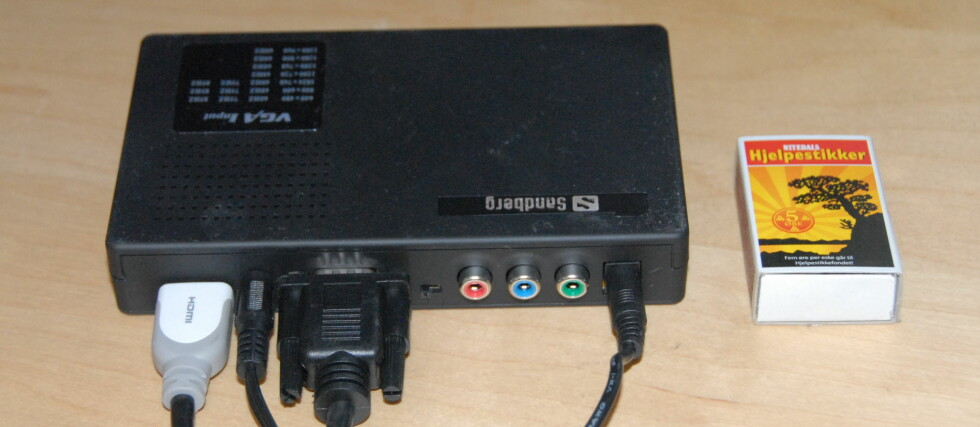TEST: VGA og lyd til HDMI