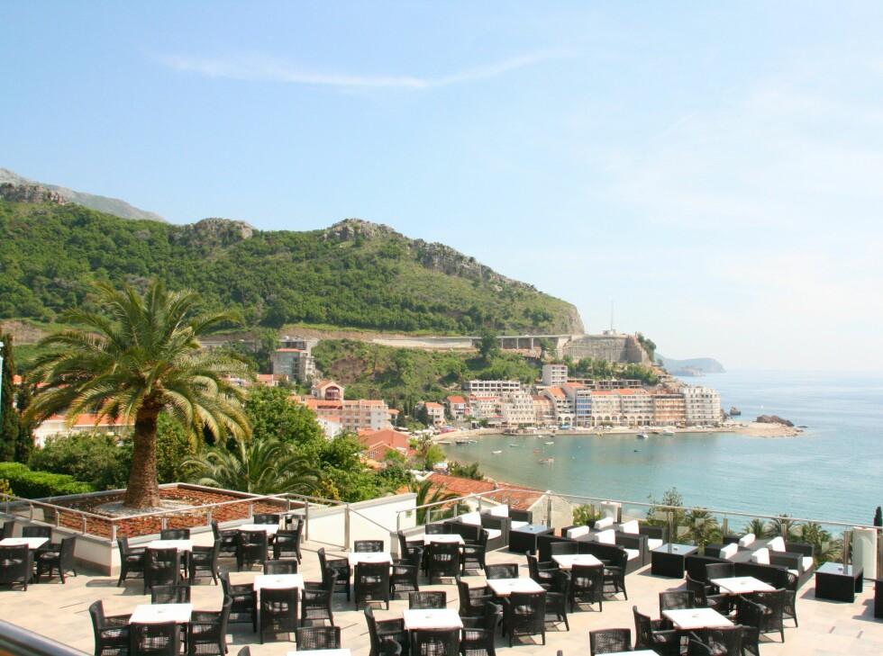 Flott utsikt over Adriaterhavet. Foto: Stine Okkelmo