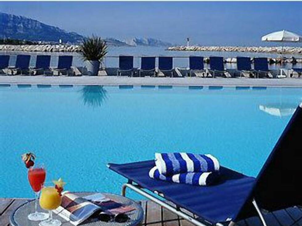 Hotellet ligger fredelig til litt utenfor sentrum av Marseille. Foto: Pullman Marseille Palm Beach
