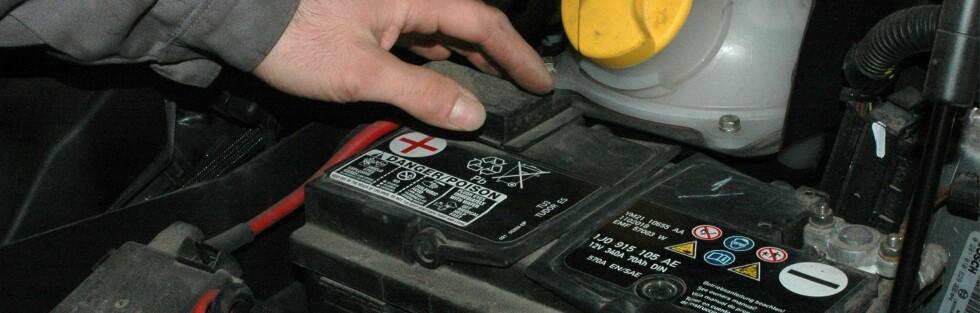TEST: SP Sveriges tekniska forskningsinstitut har testet hvordan åtte bilbatterier yter i varmt og kaldt klima. Foto: COLOURBOX.COM