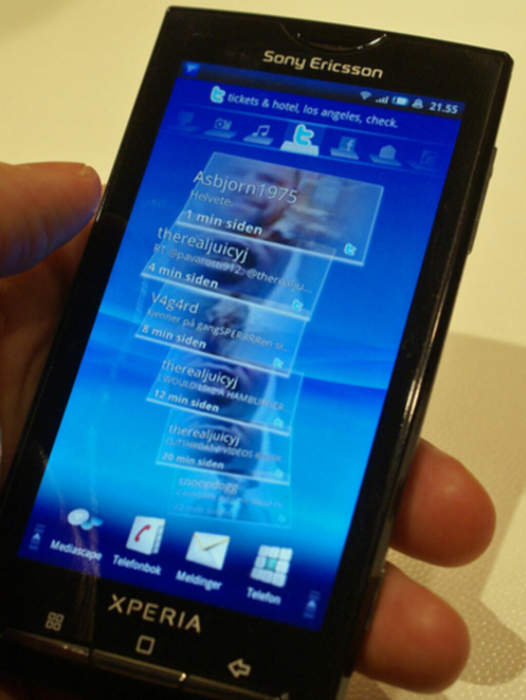 image: Sony Ericsson Xperia X10