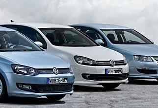 Årets miljøbil 2010: VW vant
