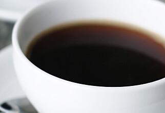 Er du for gammel til å drikke kaffe?
