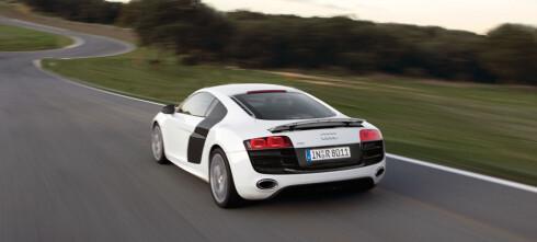 Audi R8 V10 ble Årets sportsbil