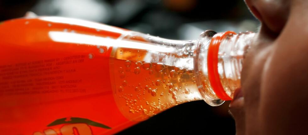 Aspartam er et intenst søtstoff som søter 200 ganger mer enn sukker. Foto: Colourbox.com
