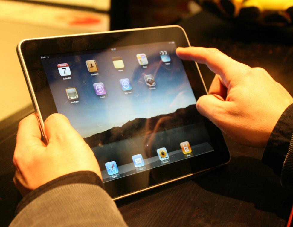 Apple iPad på testbenken