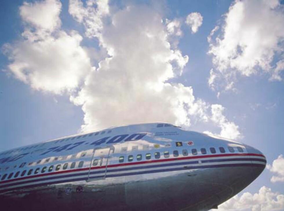 En Boeing 747, her i versjonen 747-400. Foto: Boeing