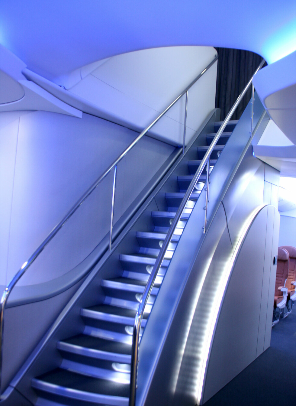 To etasjer, der bare de som betaler mest er velkommen opp trappen. Foto: Kim Jansson