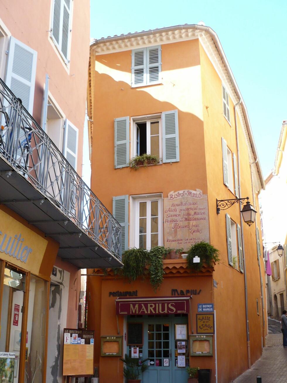 Gatebilde fra Hyères. Foto: M.Raynaud/ Terre Méditerranée