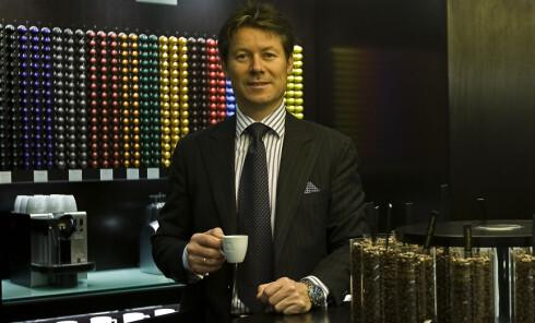 Kristen A. Hovland i Nespresso Norden tror kapselkaffe vil stå for 40 prosent av markedet innen tre-fire år. Foto: Nespresso