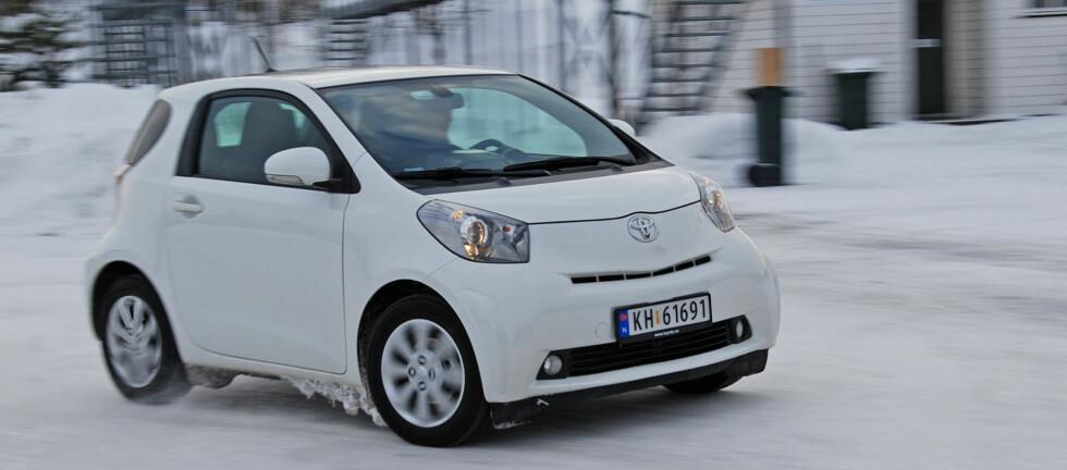 Vintertest av Toyota IQ