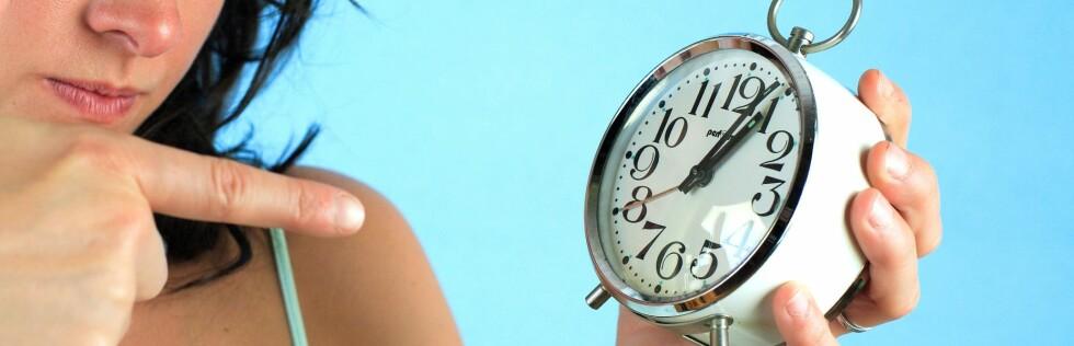 Still klokka - hvis du tør