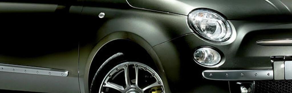 <strong>FIAT 500</strong> får liten motor med stort sparepotensiale.