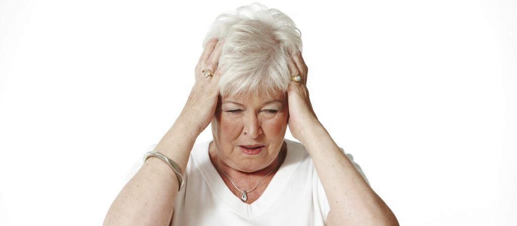 FORSKJELLIGE SYMPTOMER: Kvinner får forskjellige symptomer ved hjerteinfarkt enn menn.  Foto: Colourbox.com