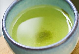 Grønn te er bra for tennene