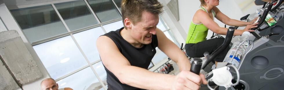KORT, MEN INTENSIV trening er like bra som utholdenhetstrening, ifølge ny studie. Foto: Colourbox.com