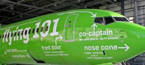 Se hva som er hvor i flyet